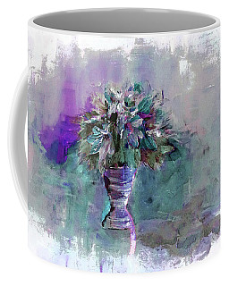 Coffee Mug featuring the painting Jewels by Lisa Kaiser