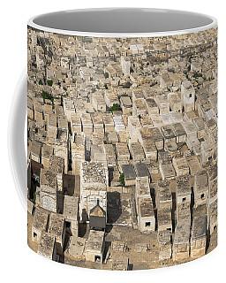 Jewish Cemetery On Mount Of Olives Coffee Mug