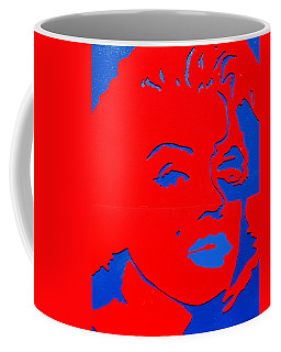 Jfk And The Other Woman Coffee Mug by Robert Margetts