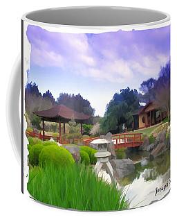 Coffee Mug featuring the photograph Jg-0021 Kotaji Lantern by Digital Oil