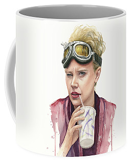 Jillian Holtzmann Ghostbusters Portrait Coffee Mug