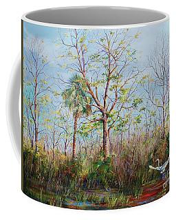 Jim Creek Lift Off Coffee Mug by AnnaJo Vahle