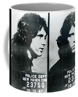 Jim Morrison Mug Shot Horizontal Coffee Mug