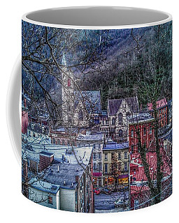 Jim Thorpe Pennsylvania In Winter #1 Coffee Mug