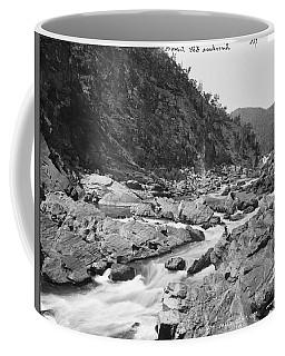 Jimenbuan Falls, Snowy River, Kerry And Co, Sydney, Australia, C. 1884-1917 Coffee Mug