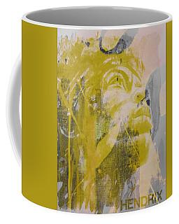 Jimi Hendrix Art  Coffee Mug