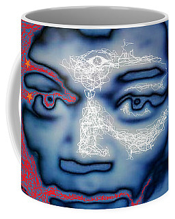 Jimi Hendrix Oh Say, Can You See The Rockets Red Glare Coffee Mug
