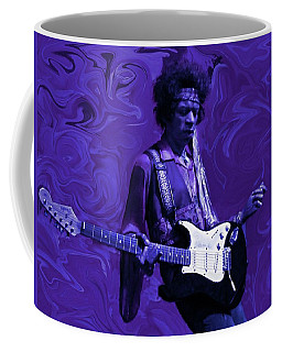 Jimi Hendrix Purple Haze Coffee Mug