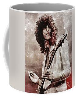 Jimmy Page By Mary Bassett Coffee Mug