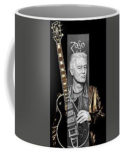 Jimmy Page Drawing Coffee Mug