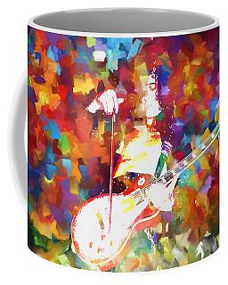 Jimmy Page Jamming Coffee Mug