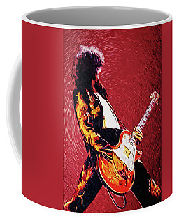 Rock And Roll Jimmy Page Coffee Mugs