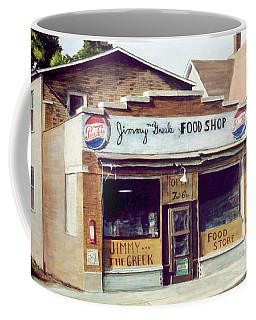 Jimmy The Greek Coffee Mug
