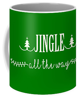 Coffee Mug featuring the digital art Jingle All The Way by Heidi Hermes