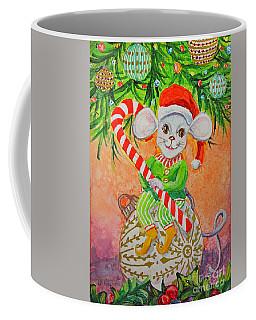 Jingle Mouse Coffee Mug by Li Newton