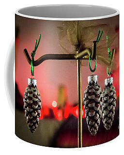 Jingle Pinecones Coffee Mug