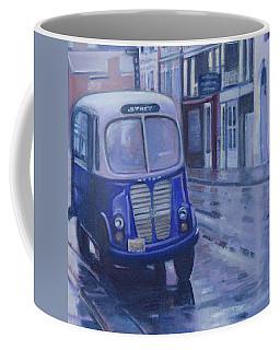 Jitney Ride In The Rain Coffee Mug