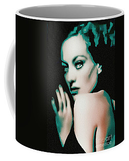 Joan Crawford - Pop Art Coffee Mug