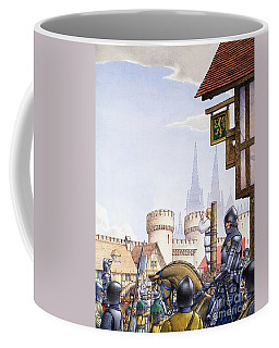 Joan Of Arc Burned At The Stake Coffee Mug