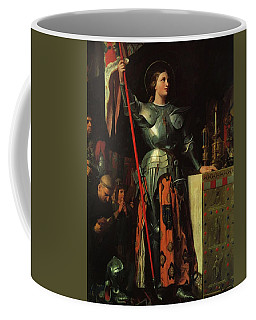 Joan Of Arc On Corronation Of Charles Vii In The Cathedral Of Reims Coffee Mug