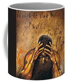 Job Coffee Mug by Christopher Marion Thomas