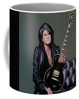 Joe Perry Of Aerosmith Painting Coffee Mug by Paul Meijering