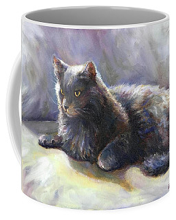 Coffee Mug featuring the painting Joey by Bonnie Goedecke