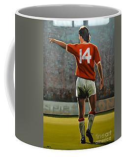 Johan Cruyff Oranje Nr 14 Coffee Mug