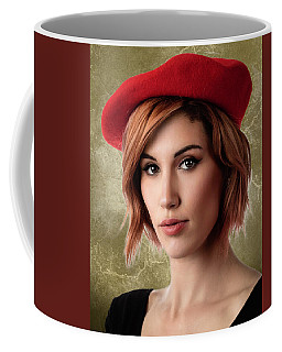 Johanna Beret Golden Coffee Mug