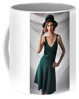 Johanne In Green Coffee Mug