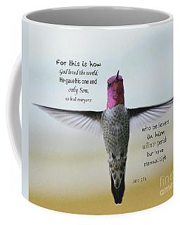 John 3 V 16 Coffee Mug