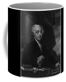 Coffee Mug featuring the photograph John Adams Second Potus by Richard W Linford