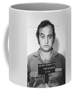 John Belushi Mug Shot For Film Vertical Coffee Mug by Tony Rubino