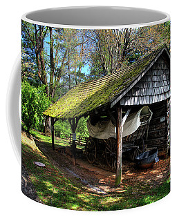 John Crockett's Conestoga Wagon Coffee Mug by Paul Mashburn