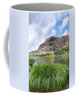 John Day River Landscape In Summer Portrait Coffee Mug