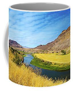 John Day River Panoramic View Coffee Mug