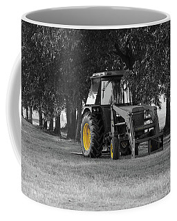 John Deere 620 In Selective Color Coffee Mug