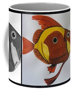 John Dory Collage Coffee Mug