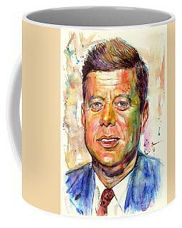 John F. Kennedy Painting Coffee Mug