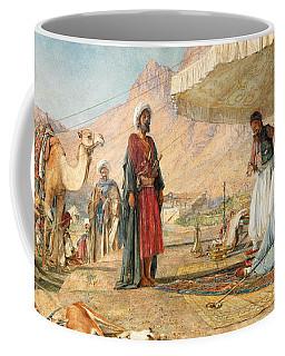 Coffee Mug featuring the photograph John Frederick Lewis Mount Sinai 1842 by Munir Alawi