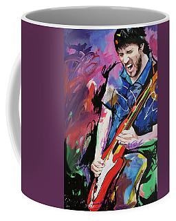 John Frusciante Coffee Mug by Richard Day