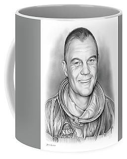 John Glenn - Bw Coffee Mug
