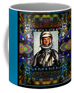 John Glenn Tribute Portrait Coffee Mug