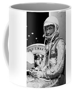 John Glenn Wearing A Space Suit Coffee Mug