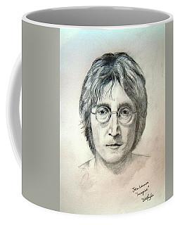 John Lennon Imagine Coffee Mug