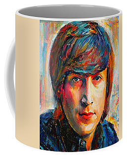 John Lennon Young Portrait Coffee Mug