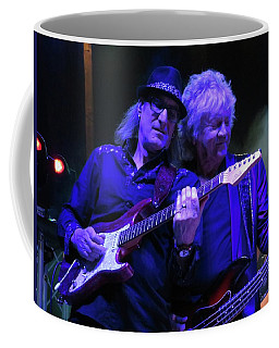 Coffee Mug featuring the photograph John Lodge At Fergs by Melinda Saminski