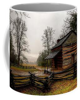 John Oliver's Cabin In Cades Cove Coffee Mug