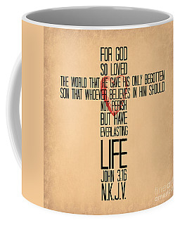 John Three Sixteen The Cross Coffee Mug