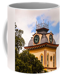 John W. Hargis Hall Clock Tower Coffee Mug